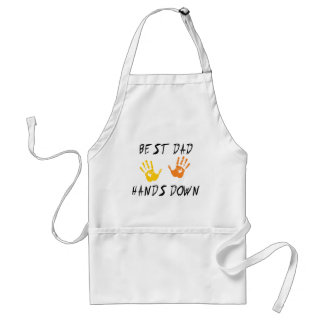 Best Dad Hands Down Gift Aprons
