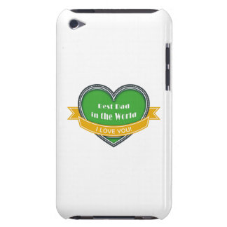 Best Dad in the World Barely There iPod Cover