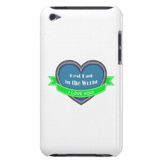 Best Dad in the World Barely There iPod Covers