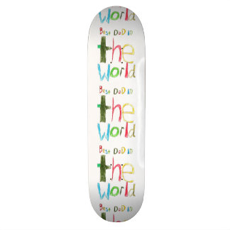 best dad in the world skate boards