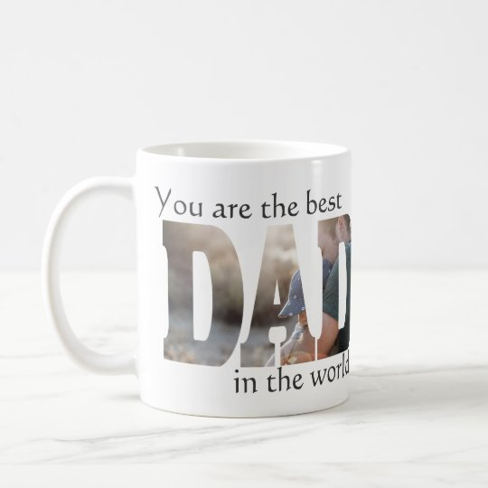 Best Dad NEW Template Coffee Mug