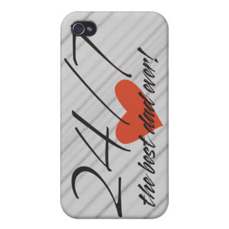 Best Dad Speck® Fitted™ Hard Shell iPhone Case iPhone 4 Case