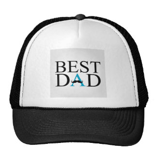 Best Dad with a mustache over A Cap