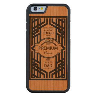 Best Dad Wood iPhone Case