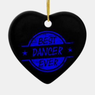 Best Dancer Ever Blue Christmas Tree Ornaments