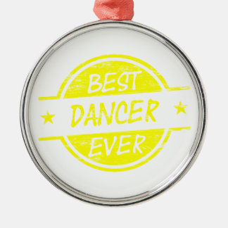 Best Dancer Ever Yellow Christmas Tree Ornament