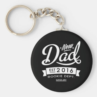 Best Dark New Dad 2016 Key Ring