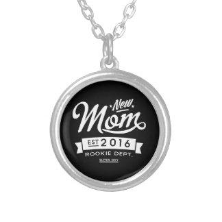Best Dark New Mom 2016 Round Pendant Necklace