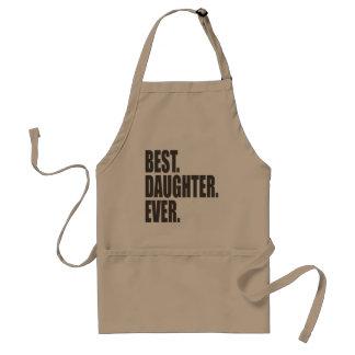 Best. Daughter. Ever. Standard Apron