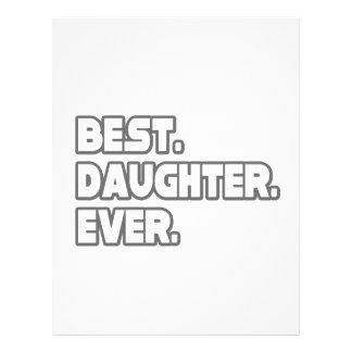 Best Daughter Ever Custom Flyer