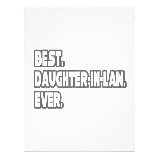Best Daughter-In-Law Ever Flyer