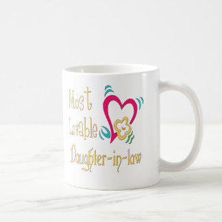 Best Daughter-in-law Gifts Basic White Mug
