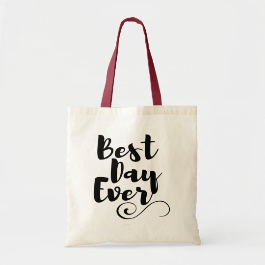 Best Day Ever Bachelorette Party Wedding Tote