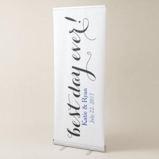 Best Day Ever Bride Groom Wedding Reception Sign