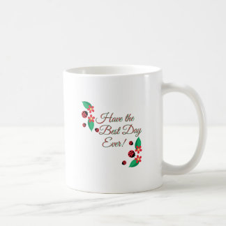 Best Day Basic White Mug