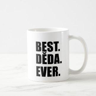 Best Deda Ever Czech Grandfather Coffee Mug