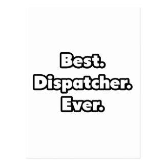 Best. Dispatcher. Ever. Postcard