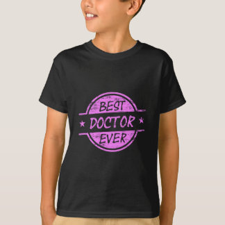 Best Doctor Ever Pink T-Shirt