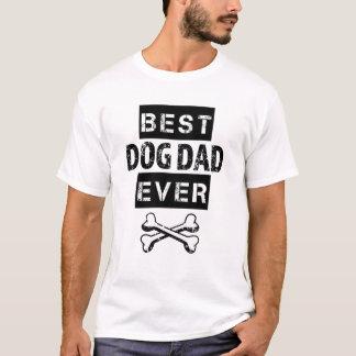Best Dog Dad Ever Funny Mens Shirt