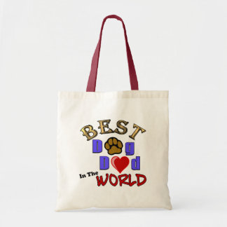 Best Dog Dad in the World Gifts - Father's Day Bags