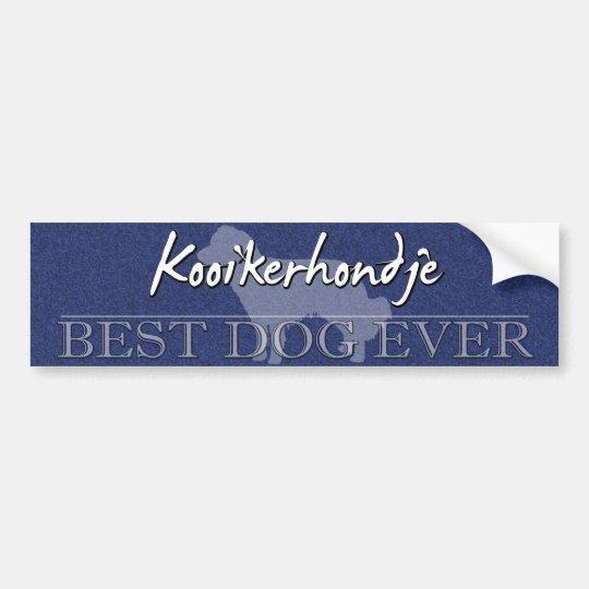 Best Dog Kooikerhondje Bumper Sticker