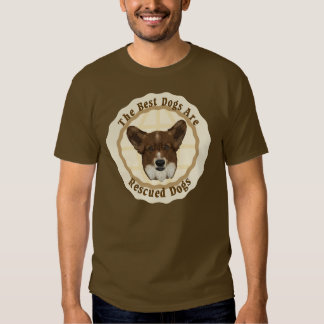 Best Dogs Are Rescued (Cardigan Welsh Corgi) T-shirt
