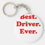 Best Driver Ever Key Chains