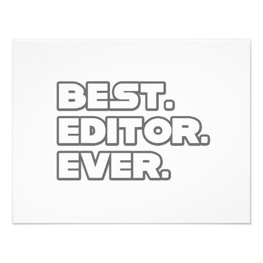 Best Editor Ever Custom Invite