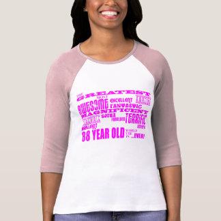Best Eighty Eight Girls Pink Greatest 88 Year Old Tshirt