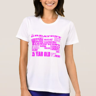Best Eighty Five Girls Pink Greatest 85 Year Old Tshirts