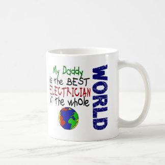 Best Electrician In World 2 (Daddy) Coffee Mug