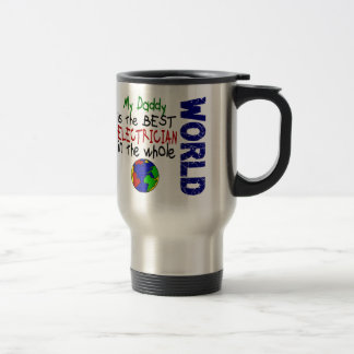 Best Electrician In World 2 (Daddy) Stainless Steel Travel Mug