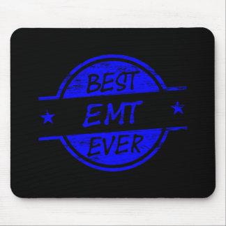 Best EMT Ever Blue Mousepad