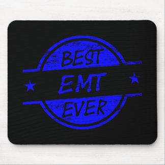 Best EMT Ever Blue Mouse Pad