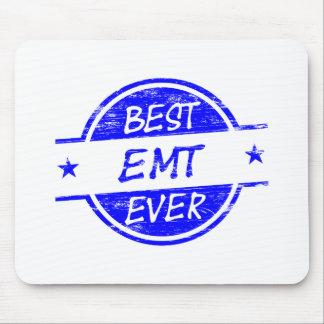 Best EMT Ever Blue Mouse Pads