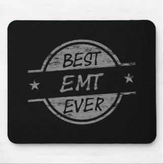 Best EMT Ever Gray Mouse Pads