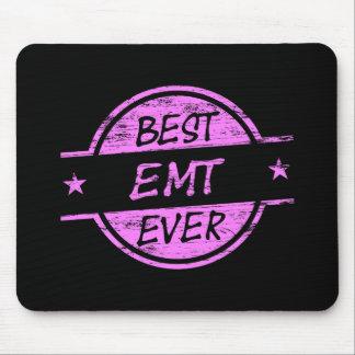 Best EMT Ever Pink Mousepads