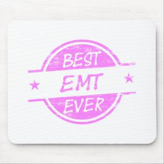 Best EMT Ever Pink Mouse Pad
