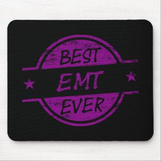 Best EMT Ever Purple Mouse Pad