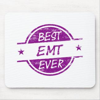 Best EMT Ever Purple Mouse Pads