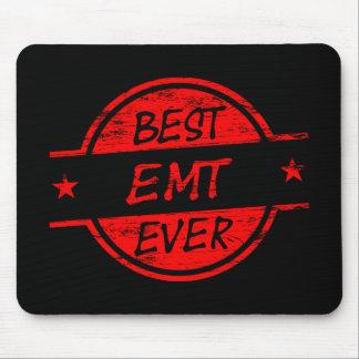 Best EMT Ever Red Mouse Pad