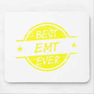 Best EMT Ever Yellow Mousepads