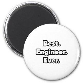 Best. Engineer. Ever. 6 Cm Round Magnet