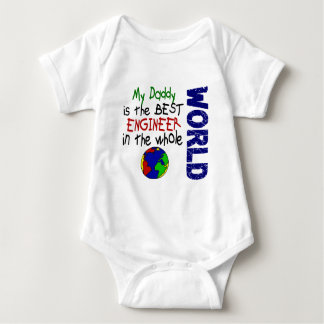 Best Engineer In World 2 (Daddy) Baby Bodysuit