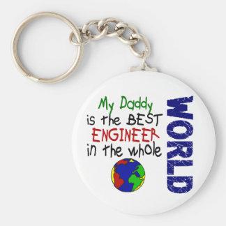Best Engineer In World 2 (Daddy) Key Ring