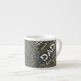 Best Ever Dad Word Cloud ID263 Espresso Cup