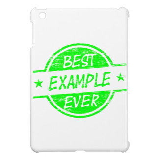 Best Example Ever Green Case For The iPad Mini
