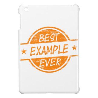 Best Example Ever Orange iPad Mini Cases