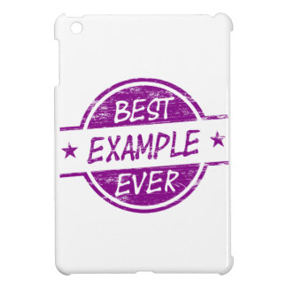 Best Example Ever Purple iPad Mini Covers