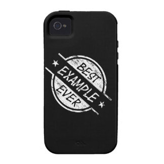 Best Example Ever White Case-Mate iPhone 4 Covers